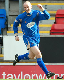 St Johnstone midfielder Paul Sheerin