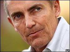 McLaren team principal Martin Whitmarsh