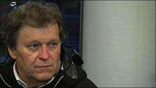 Mercedes motorsport vice-president Norbert Haug