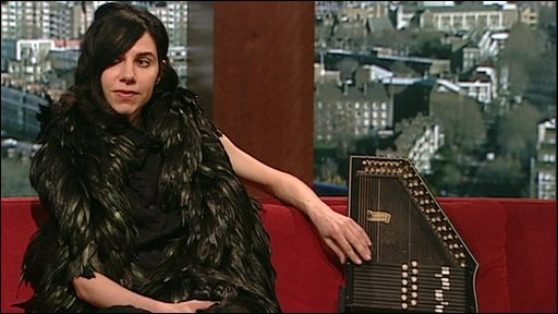 Singer PJ Harvey