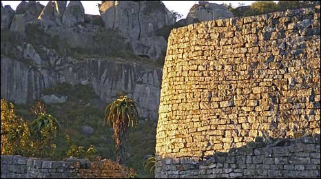 Great Zimbabwe buildings