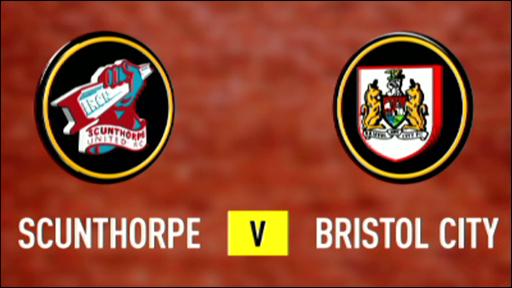 Scunthorpe 3-0 Bristol City