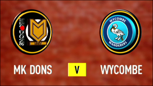 MK Dons 2-3 Wycombe