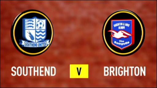 Southend 0-1 Brighton