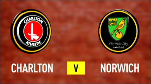 Charlton 0-1 Norwich