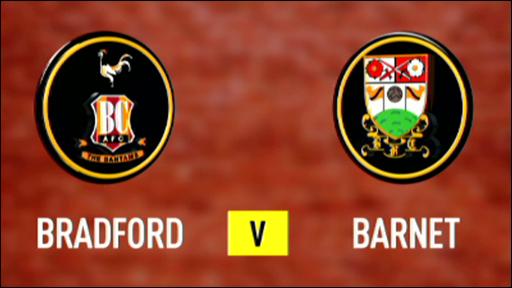 Bradford 2-1 Barnet