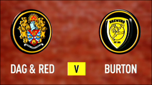 Dag & Red 2-1 Burton