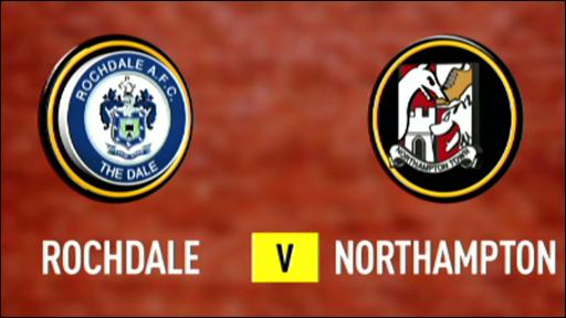 Rochdale 1-0 Northampton