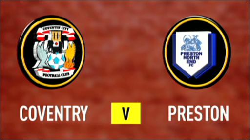 Coventry City 1-1 Preston