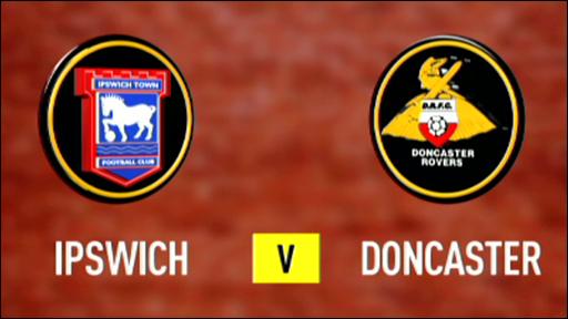 Ipswich 1-1 Doncaster