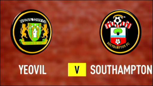 Yeovil 0-1 Southampton