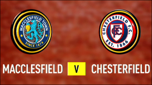 Macclesfield 2-0 Chesterfield