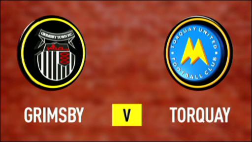 Grimsby 0-3 Torquay