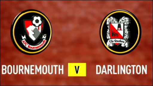 Bournemouth 2-0 Darlington