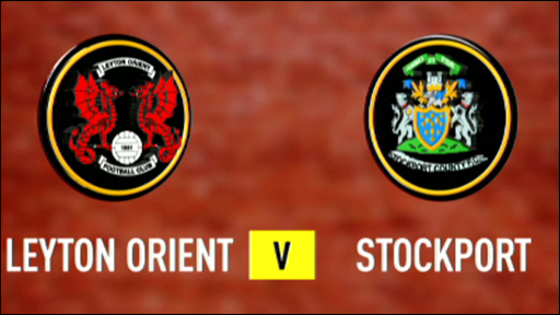 Leyton Orient 2-0 Stockport County