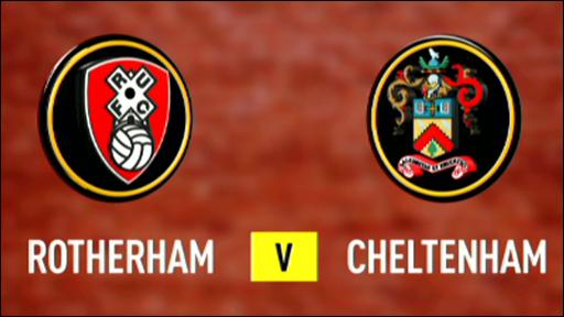 Rotherham 0-0 Cheltenham