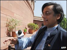 Shashi Tharoor. Photo: April 2010