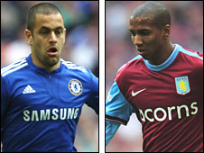 Joe Cole and Ashley Young