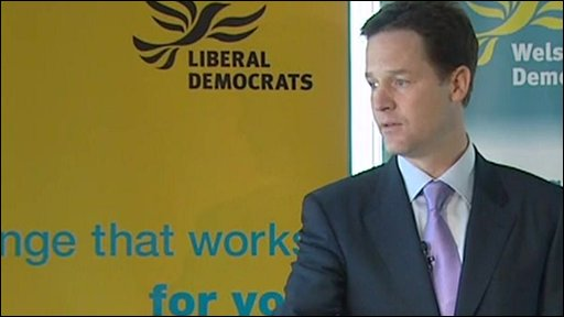 Nick Clegg, Liberal Democrat leader