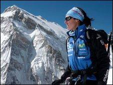 Spanish climber Edurne Pasaban
