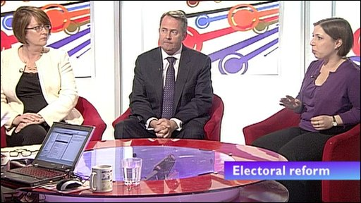 Jacqui Smith, Liam Fox and Sarah Teather