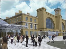 Artists impression of what the square may look like