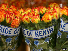 Kenyan roses. File photo