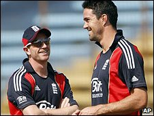 Paul Collingwood and Kevin Pietersen