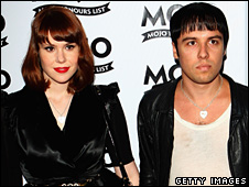 Kate Nash and The Cribs frontman Ryan Jarman