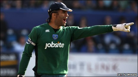 Goalkeeper David James
