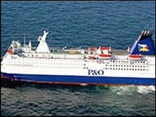 A P&O ferry