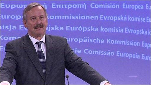 EU Transport Commissioner Siim Kallas