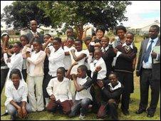 Kabulonga Basic School Reporters in Lusaka, Zambia