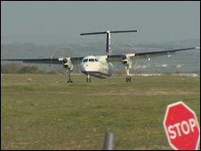 Plymouth test flight