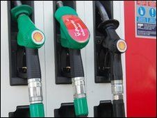 petrol pumps