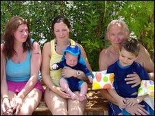 The Bolton family