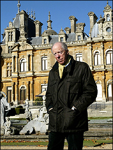 Lord Rothschild at his Waddesdon estate