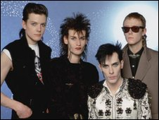 Picture of the band Bauhaus