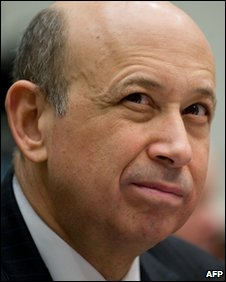 Goldman Sachs chief executive, Lloyd Blankfein
