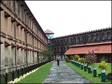 Inside Cellular Jail - photo by Lloyd Wylde