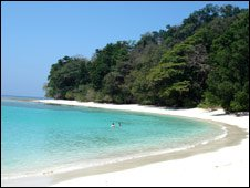 Andaman island beach 
