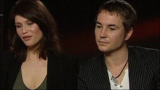 Gemma Arterton and Martin Compston