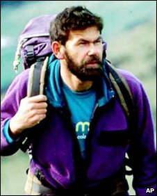 Climber Rob Hall, who died in 1996