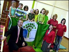 Tavish Scott at Merlwood Nursery in Lenzie