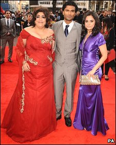 Gurinder Chadha, Sendhil Ramamurthy and Goldy Notay