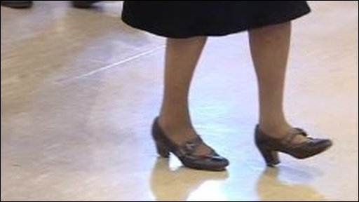 Line dancer