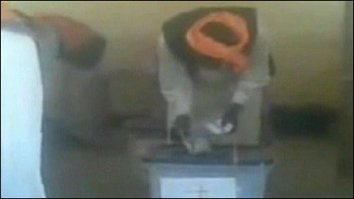 YouTube video of Sudan 'election fraud'