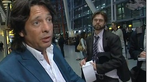 Laurence Llewelyn-Bowen has been one of the first stranded UK travellers to arrive home