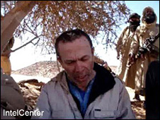 Picture of British hostage Edwin Dyer, before he was killed by al-Qaeda in the Islamic Maghreb (3 June 2009)