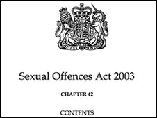 The front page to the Sexual Offences Act 2004
